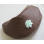 Chocolate Fortune Cookies  - Flowers &amp; Hearts Decoration